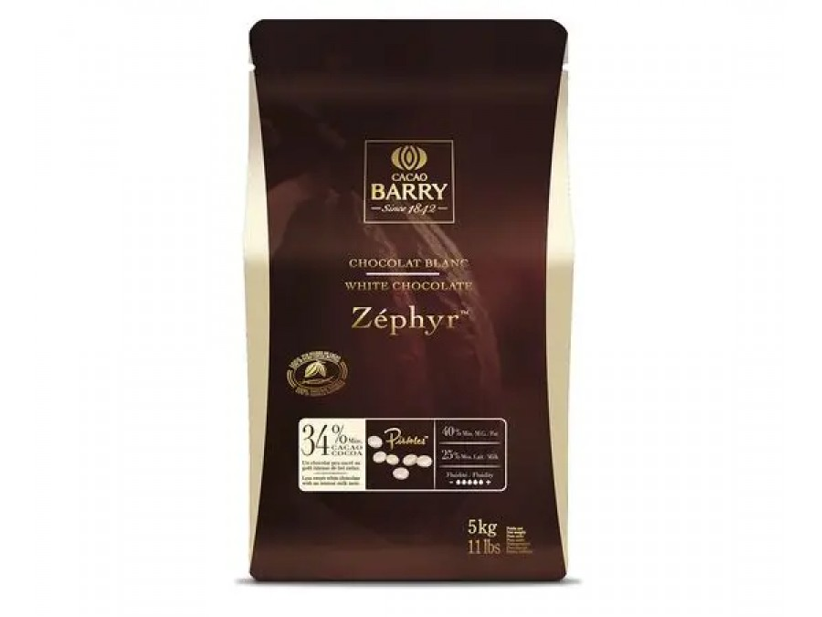 Белый шоколад Cacao Barry ZÉPHYR 34% 200 г