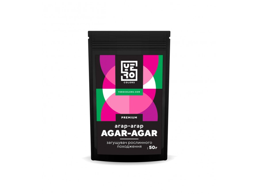 Агар-агар Yero Colors 50 г
