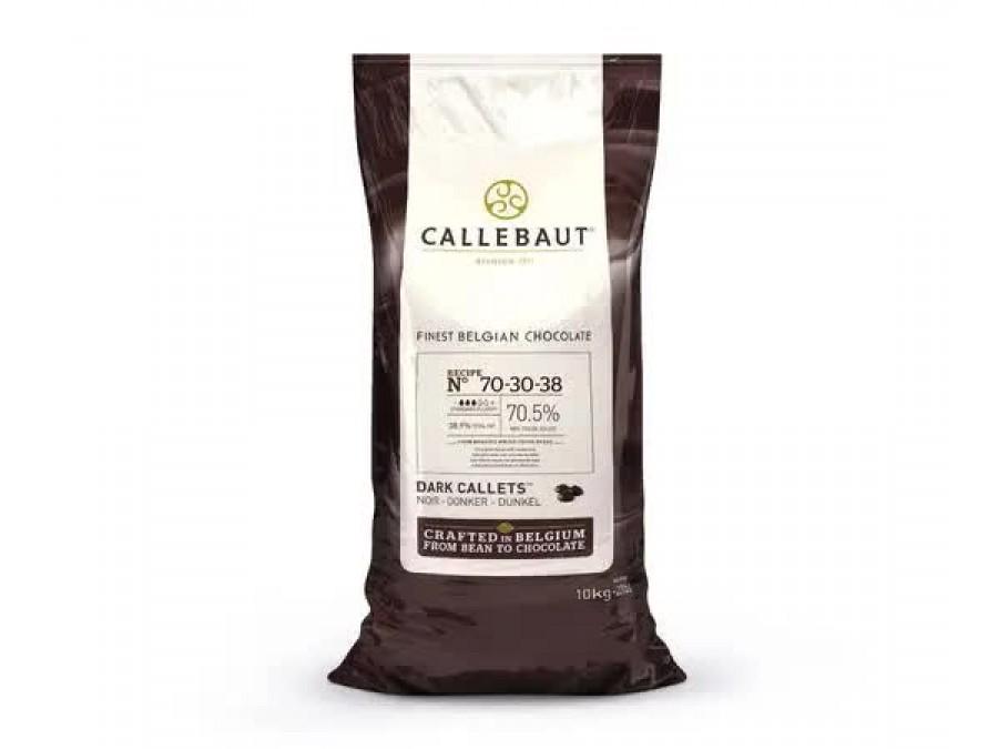 Чорний Шоколад Callebaut №70-30-38 200 г