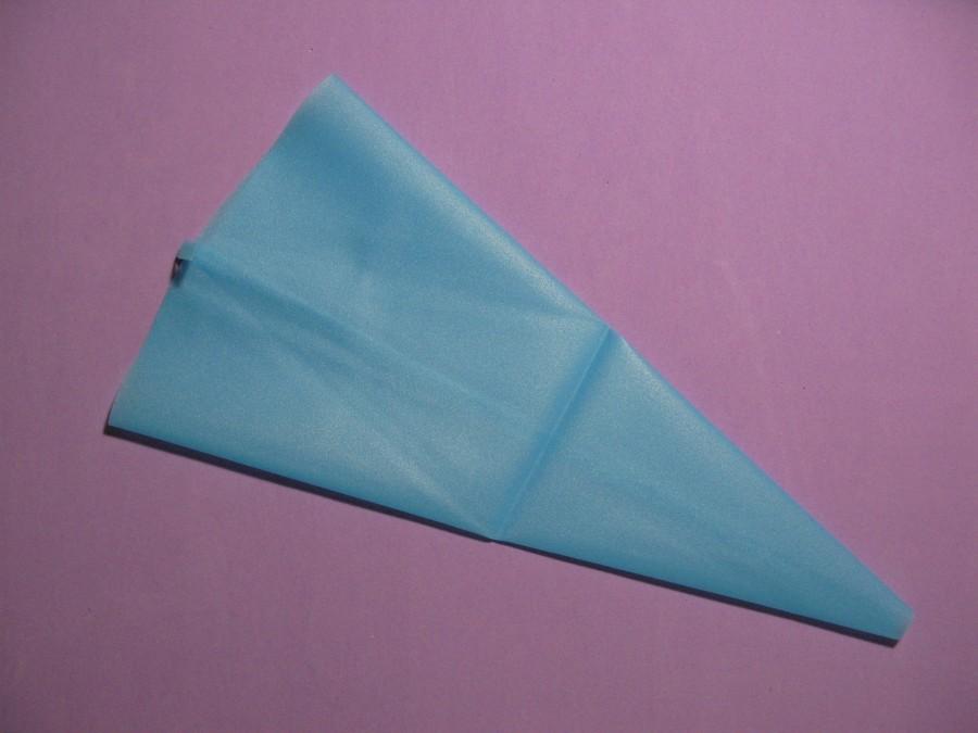 Мешок силиконовый многоразовый голубой 2-34