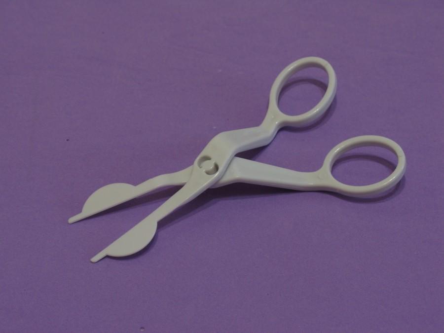Кондитерские ножницы для кремовых цветов