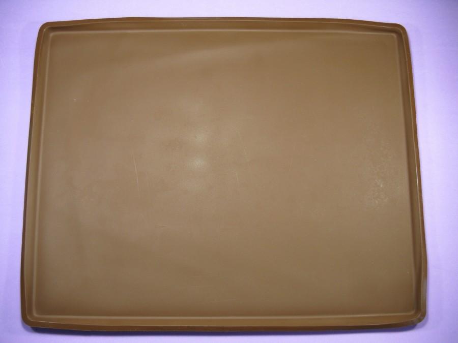 Коврик силиконовый для выпечки с бортиком 28х36х1 см