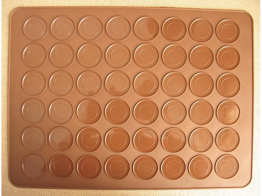 Коврик силиконовый для изготовления макаронс 48 ячеек