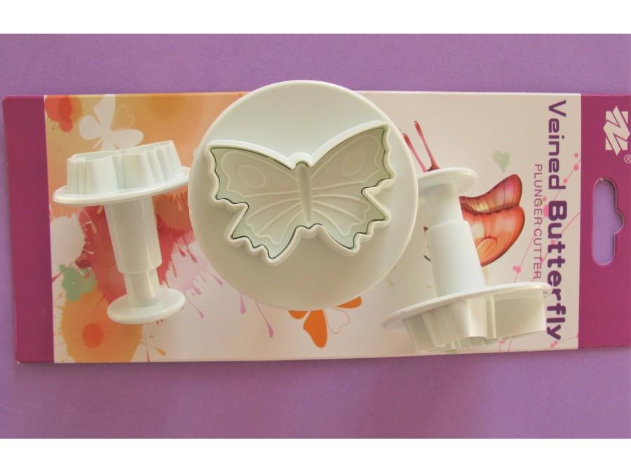 Набор плунжеров Бабочка средняя 3шт