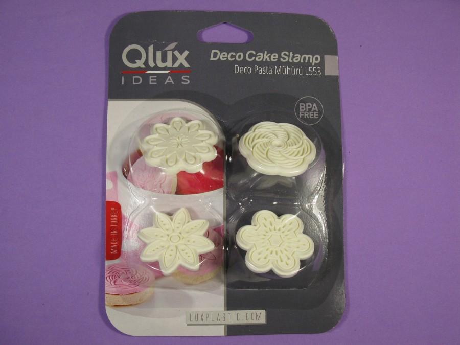 Штамп для печенья Qlux mix 4шт