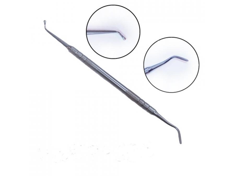 Стек кондитерский  для моделирования мастики металлический J-754