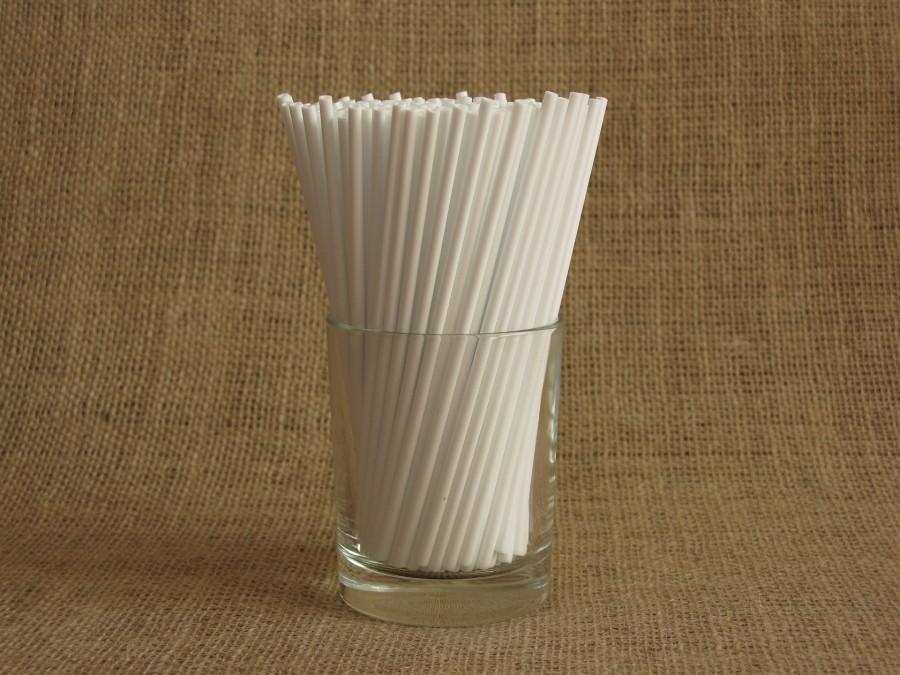 Палочки для кейк попсов Белые 50 шт