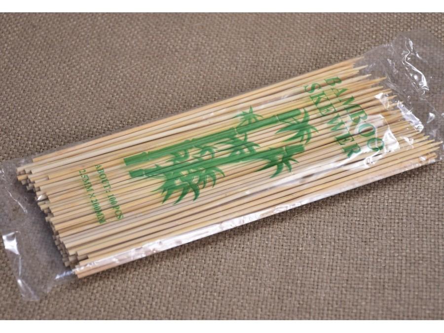 Шпажки деревянные 100 шт