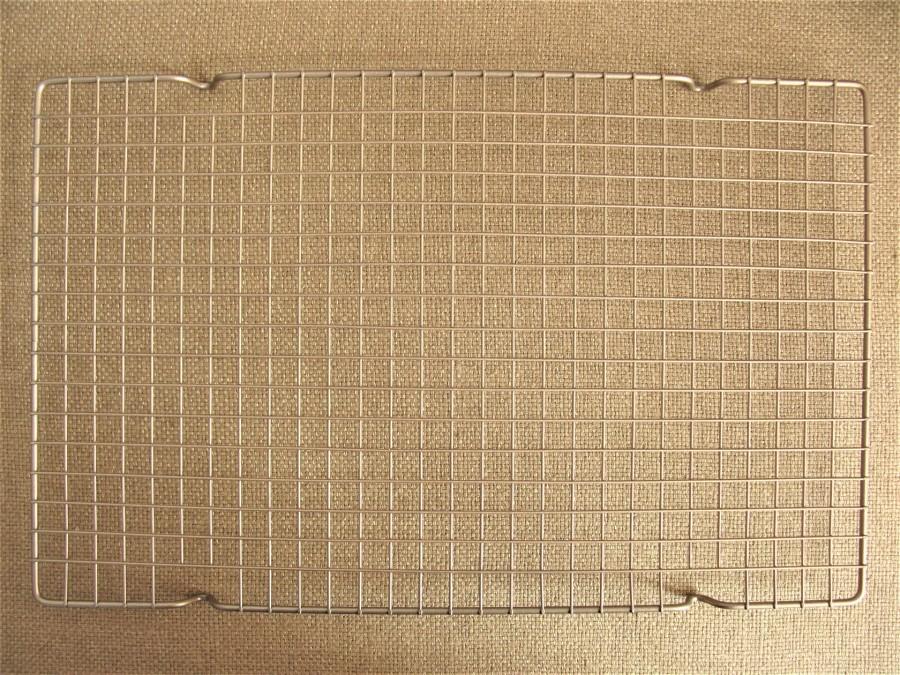 Решетка для глазирования и охлаждения 40,5 х 25,5 см