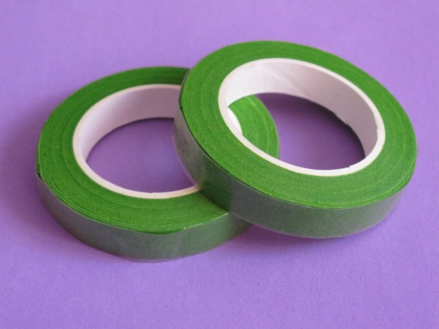 Тейп-лента для цветов Светло-зеленая (18м)