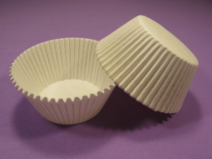 Бумажная форма для кексов 50х35 Белая, 50 шт