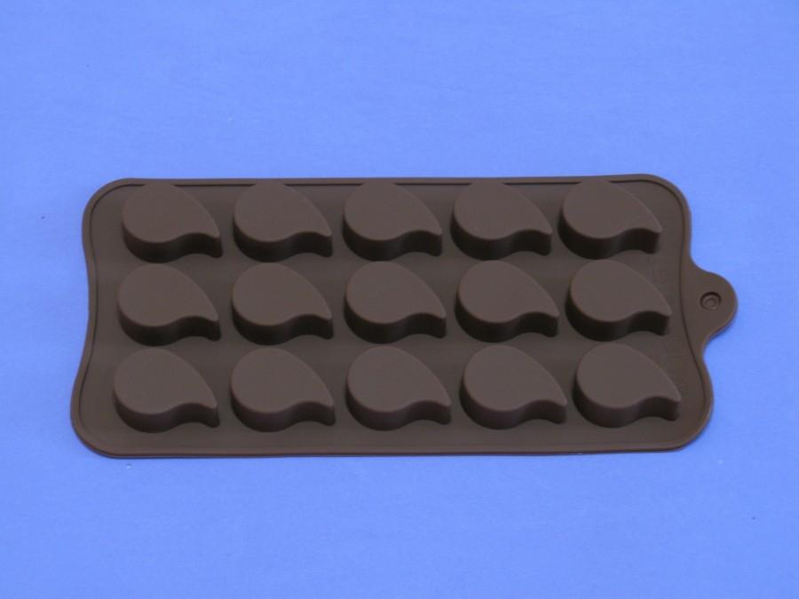 """Силиконовая форма на планшетке для льда, шоколада, мастики """"Капля"""""""