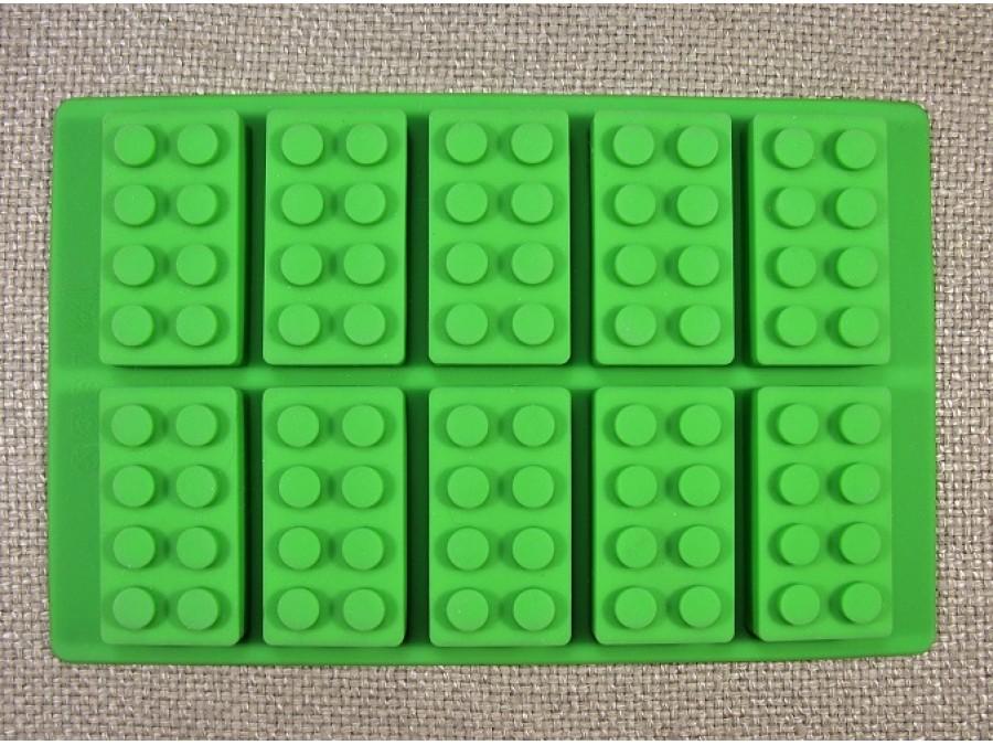 Силиконовая форма кубики Лего