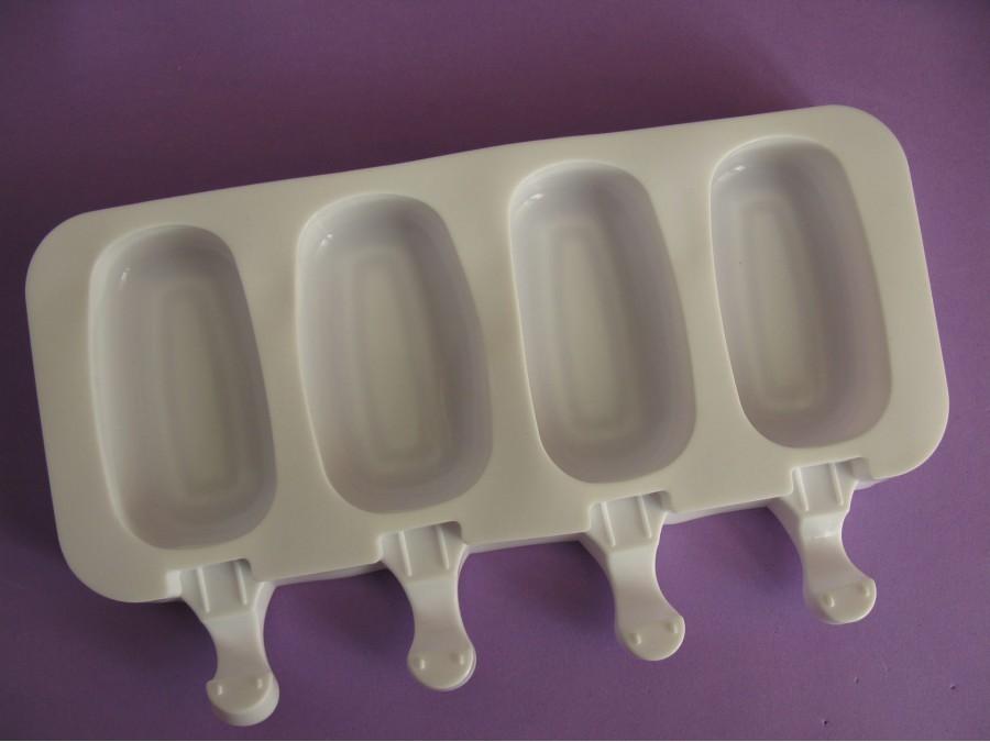 Силиконовая форма для мороженого на 4 шт