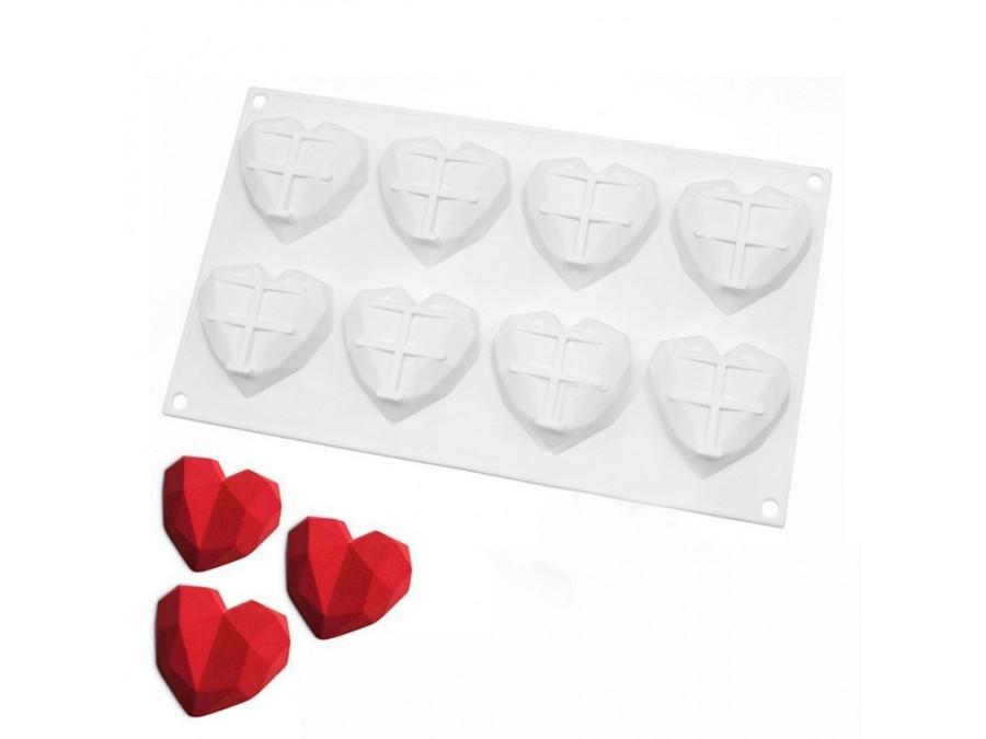 Силиконовая форма для евродесертов Amore Origami mini из 8 ед
