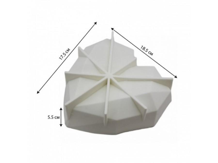 Силиконовая форма для евродесертов Amore Origami