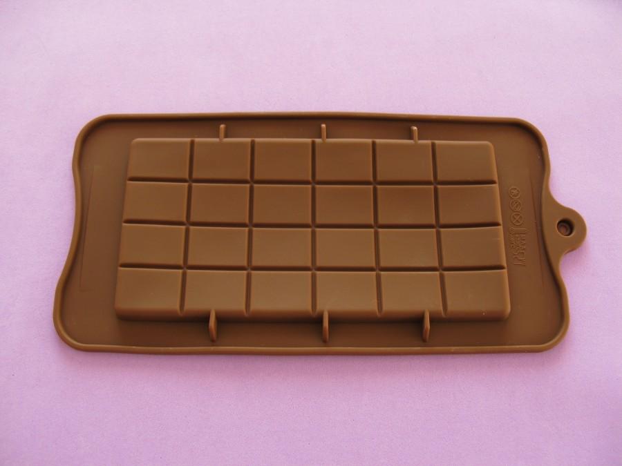 Силиконовая форма на планшетке для льда, шоколада, мастики Плитка шоколада
