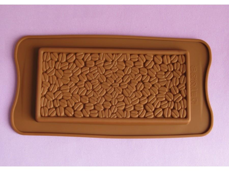 Силиконовая форма на планшетке для льда, шоколада, мастики Зерна кофе