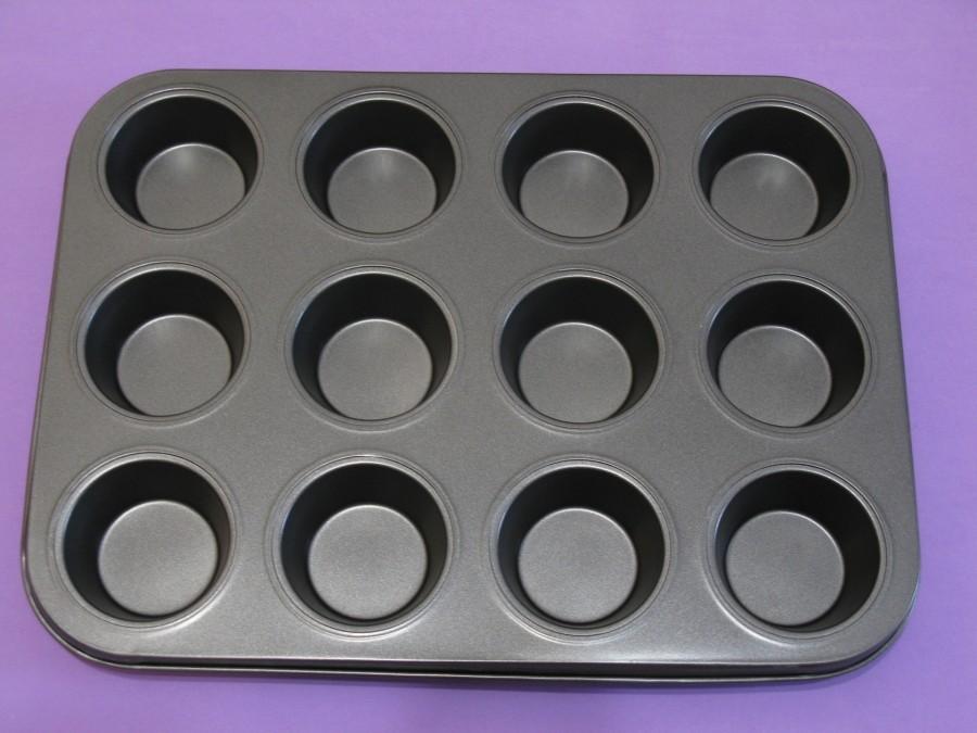 Форма для выпечки кексов 12 шт тефлон