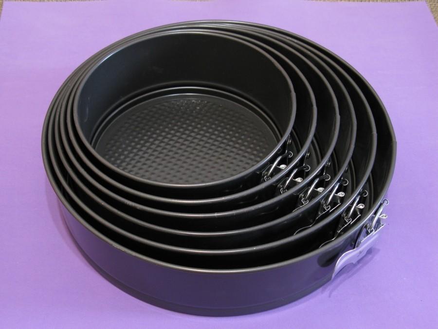 Набор разъемных форм для выпеки Круг 6 шт тефлон