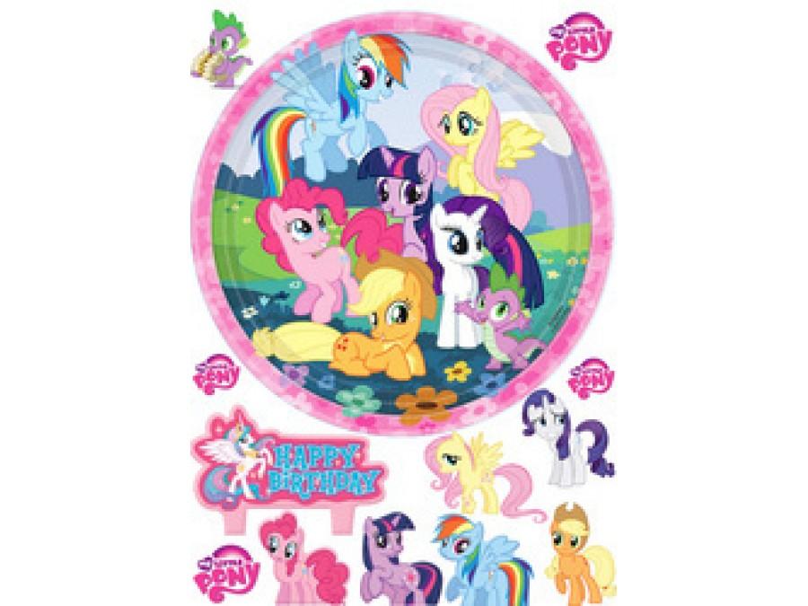 Картинка на вафельной бумаге Литл Пони
