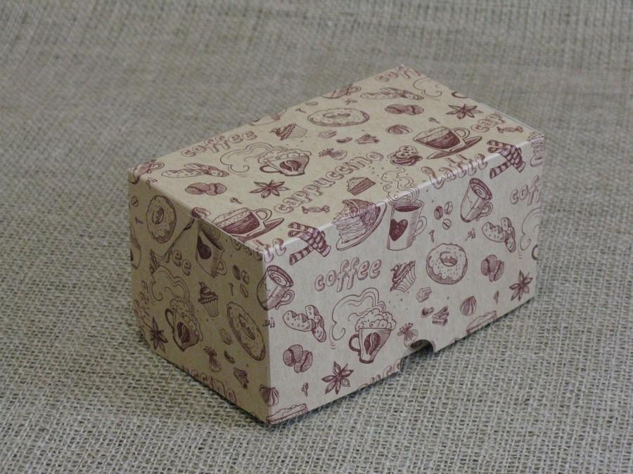 Коробка-контейнер универсальная 15х9х8см Кофе