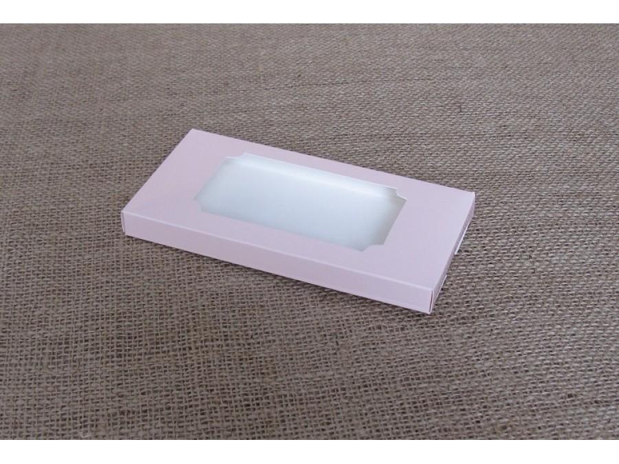 """Коробка для плитки шоколада 16х8х1,5см """"Пудра2"""""""