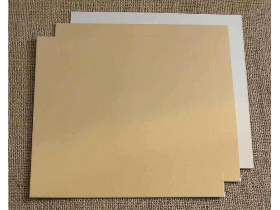 Подложка квадратная Золото/Серебро 40х40 см