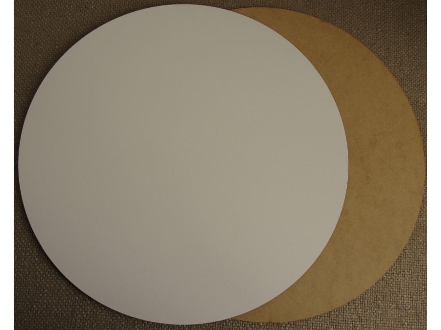 Подложка/подставка для торта  ДВП Белая d 25 см