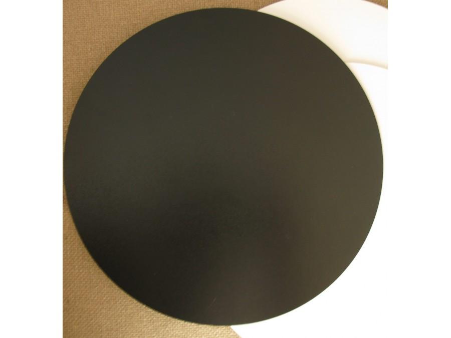 Подложка/подставка для торта, ДВП, Черная, d 35 см