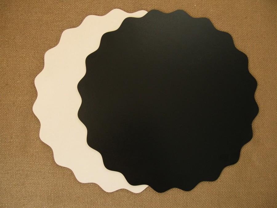 Подложка/подставка для торта, ДВП, Черная Звезда, d 30 см