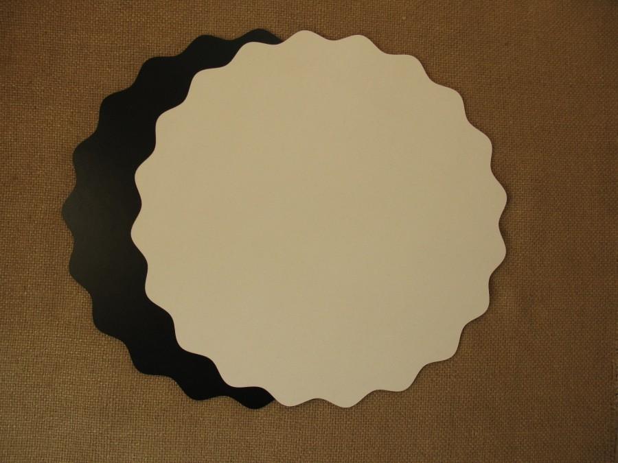 Подложка/подставка для торта  ДВП Белая Звезда d 35 см