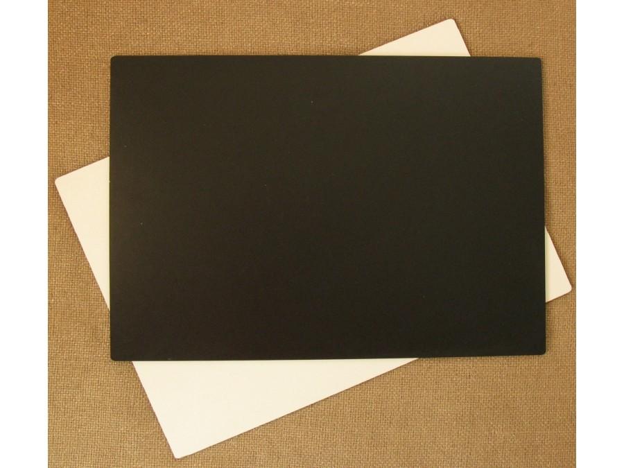 Подложка/подставка для торта, ДВП, прямоугольная Черная, 35х25 см