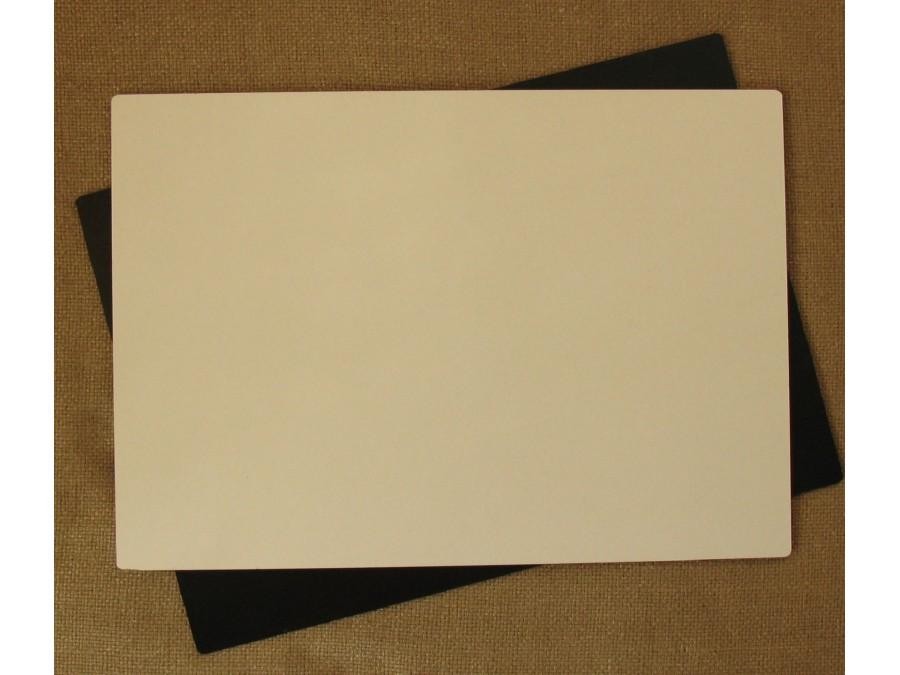 Подложка/подставка для торта, ДВП, прямоугольная Белая, 35х25 см