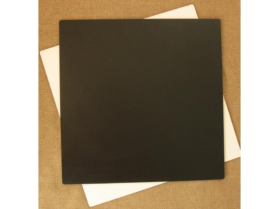 Подложка/подставка для торта, ДВП, квадратная Черная, 30х30 см