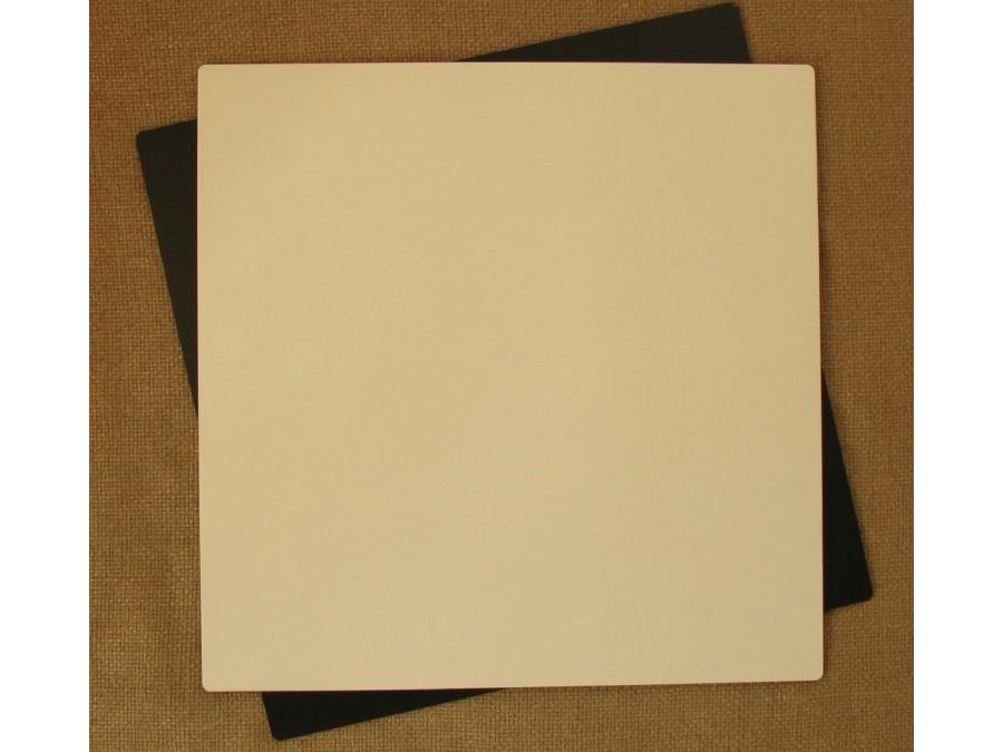 Подложка/подставка для торта, ДВП, квадратная Белая, 35х35 см