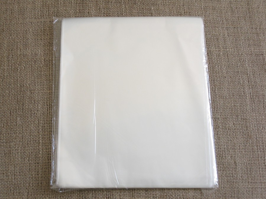 Пакет прозрачный 25х30  без рисунка (10 шт)