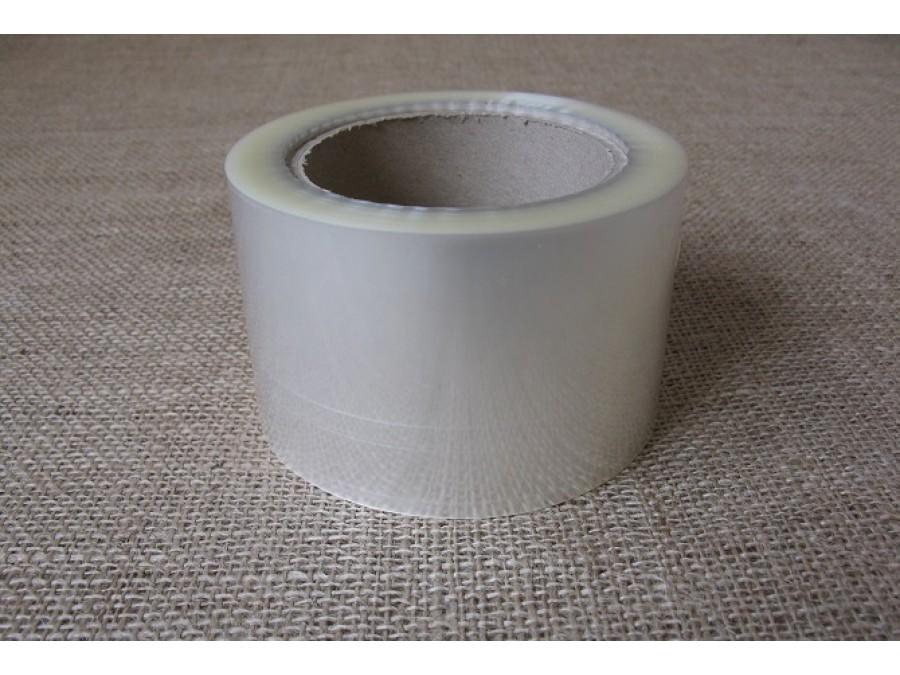 Бордюрная лента прозрачная, ширина 5 см, 40 мкм - 1м