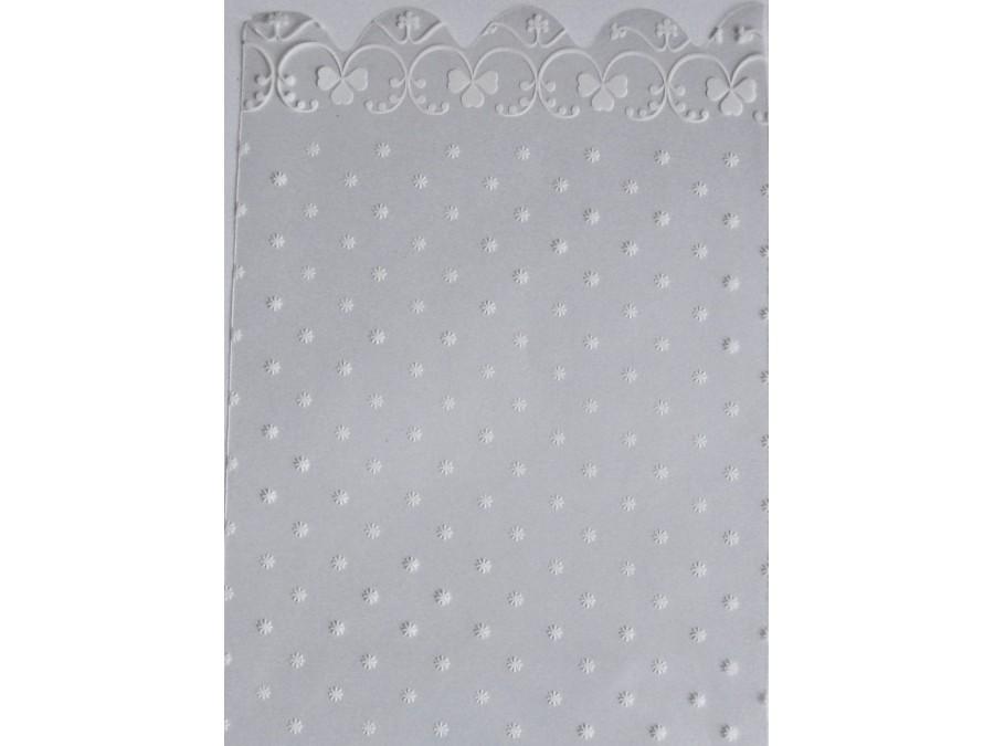 Пакет прозрачный 15 х 30, с рисунком - цветочки  (10 шт)