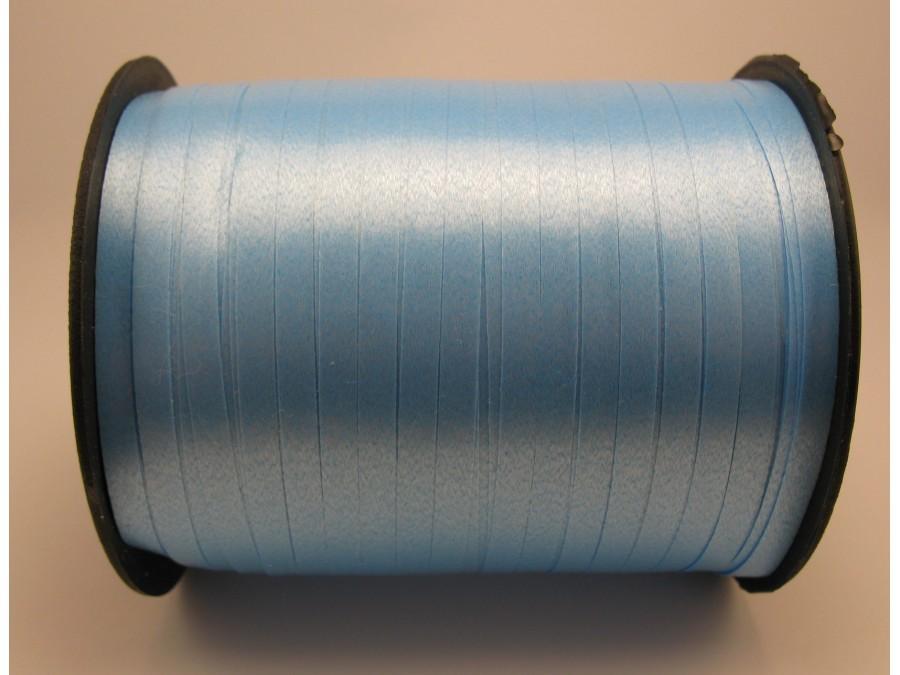 Лента полипропиленовая 0,5 см (Бобина) Голубая