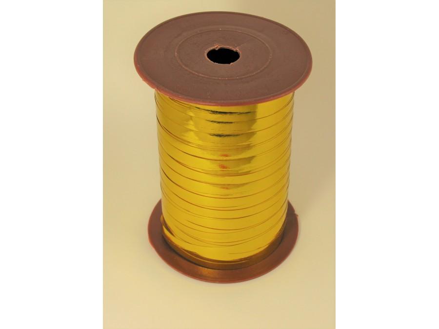 Лента полипропиленовая 0,5 см (Бобина) Золото