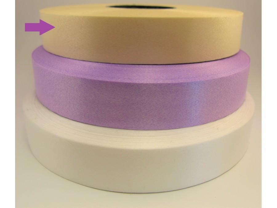 Лента полипропиленовая 2 см х 100 м Сливочный крем