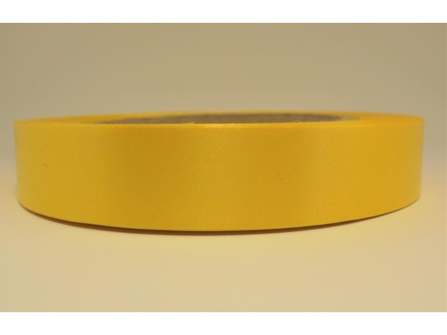 Лента полипропиленовая 2 см х 50 м Желтая (Dolce)