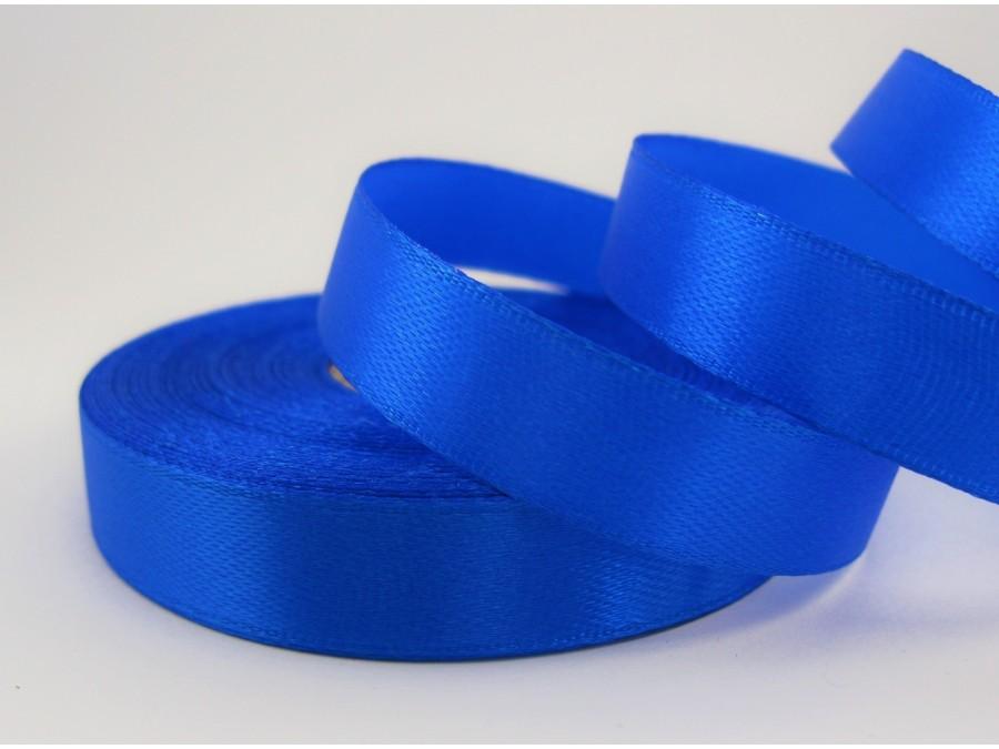 Лента атласная 1,2 см х 23 м Синяя