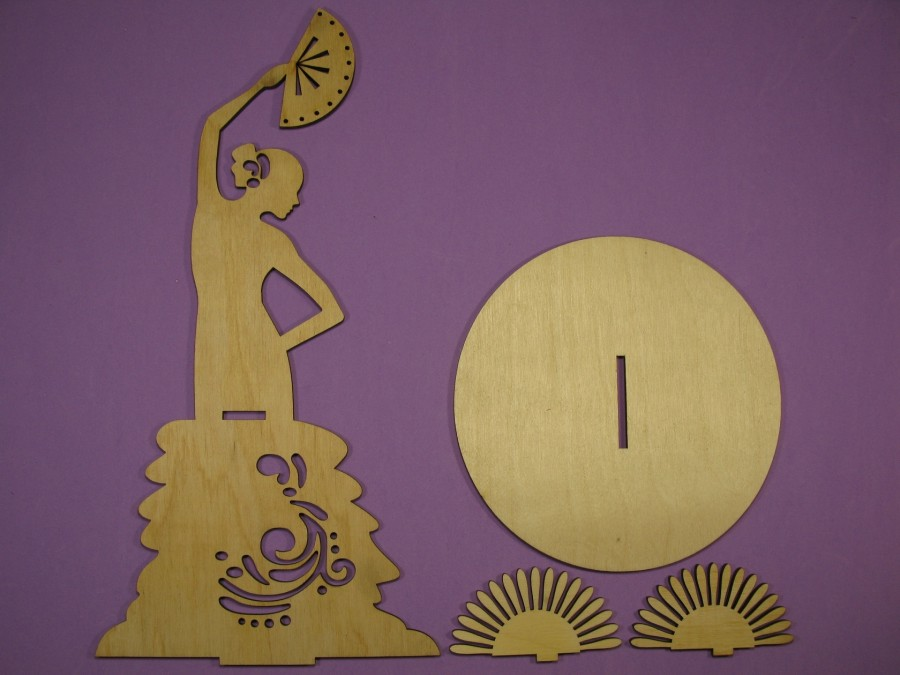 Салфетница Танцовщица