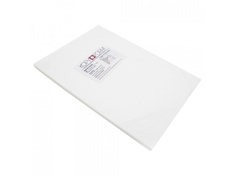 Вафельная бумага тонкая KopyForm Wafer Paper упаковка А4 5 листов