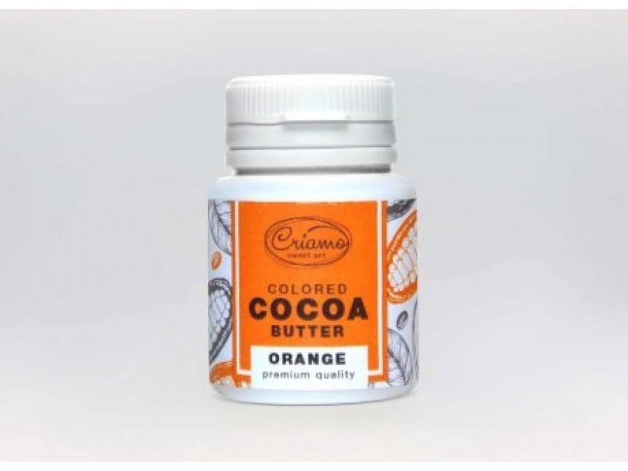Краситель какао масло для шоколада Оранжевый