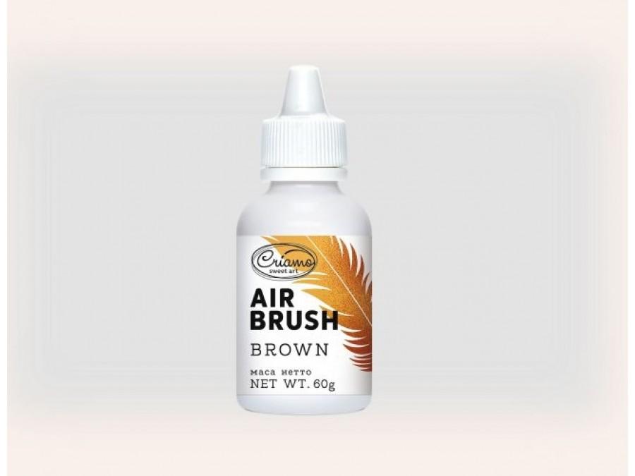 Краситель для аэрографа Criamo Airbrush 60 г Коричневый