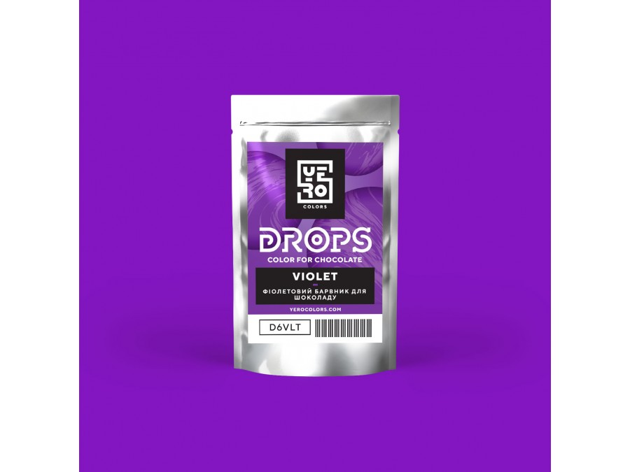 Дропсы для окрашивания шоколада Yero Фиолетовый