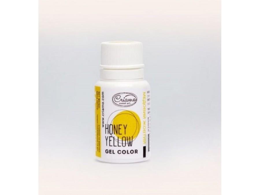 Краситель гелевый Criamo 10г Медовый Желтый/Honey Yellow
